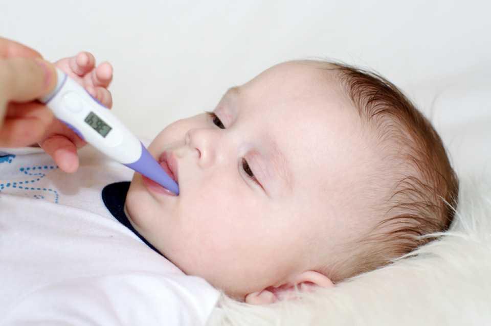 Как померить температуру новорожденному ребенку электронным градусником