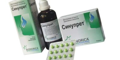 Синупрет при беременности в 1, 2, 3 триместре?