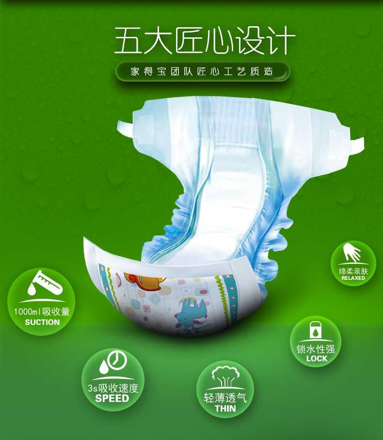 Особенности китайских подгузников