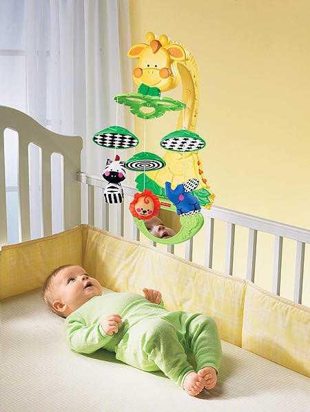 Мобиль на кроватку для новорожденных: как выбрать, обзор моделей