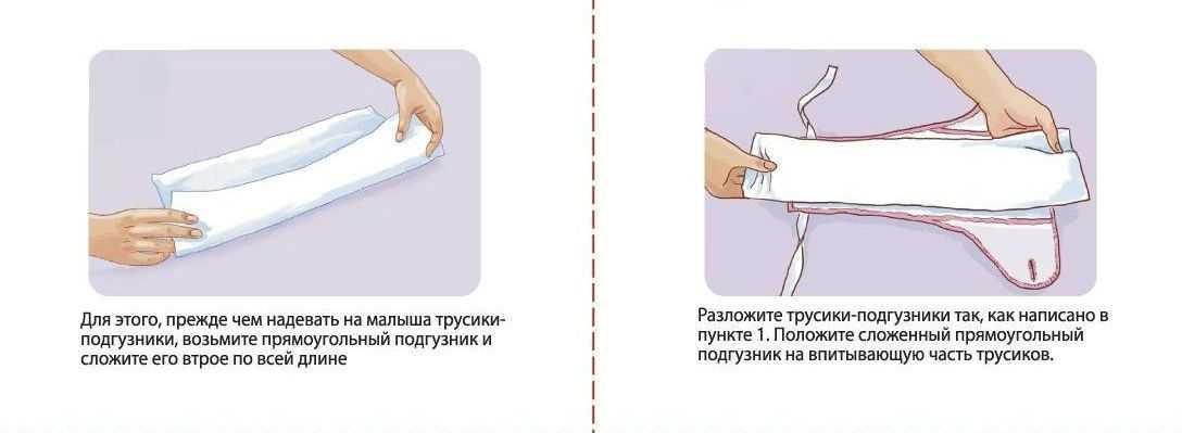 Как использовать многоразовый подгузник правильно: полезные советы