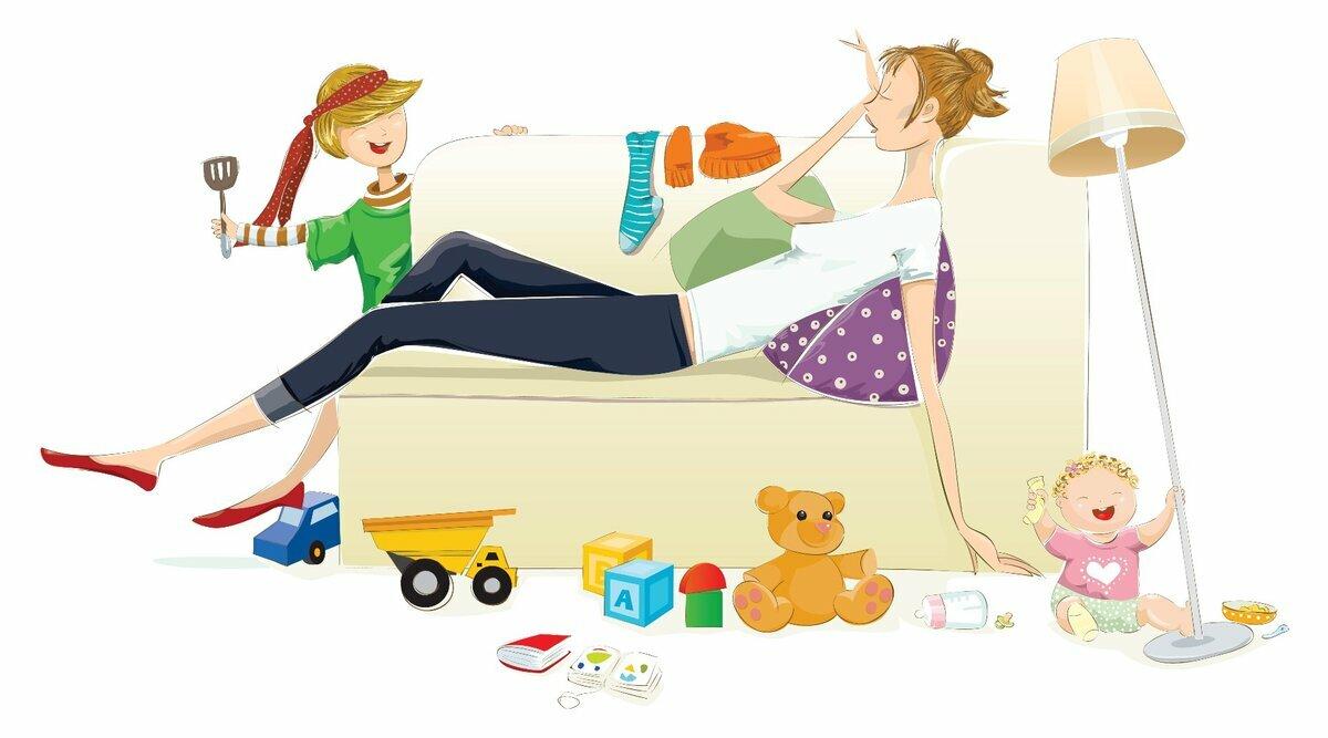Секреты выживания мамы в многодетной семье     материнство - беременность, роды, питание, воспитание