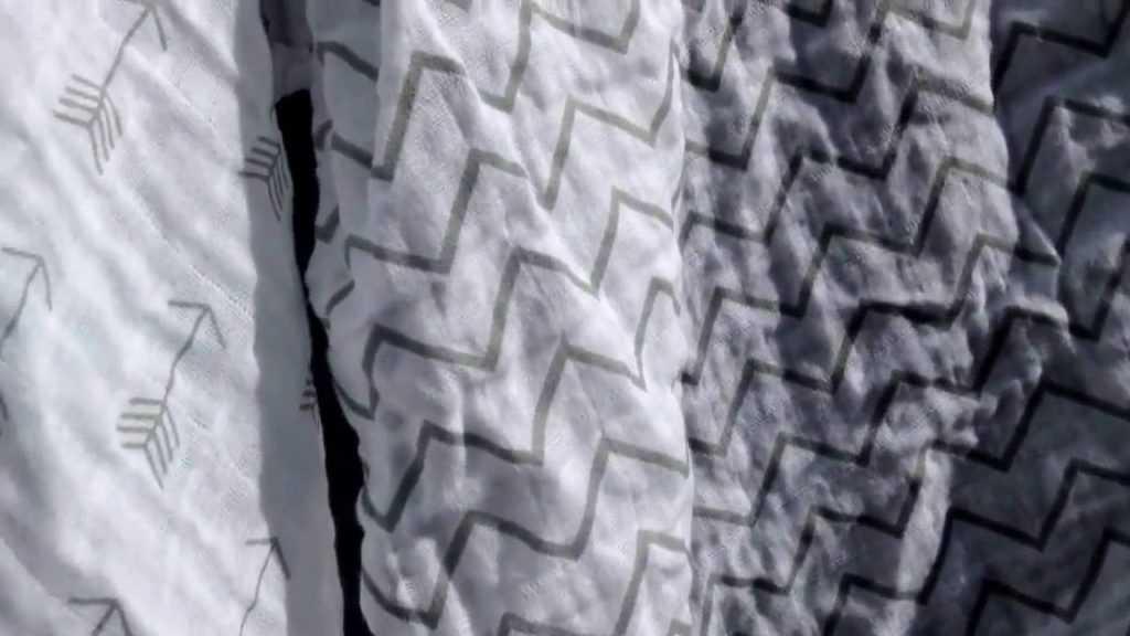 Муслиновые пеленки, стирка