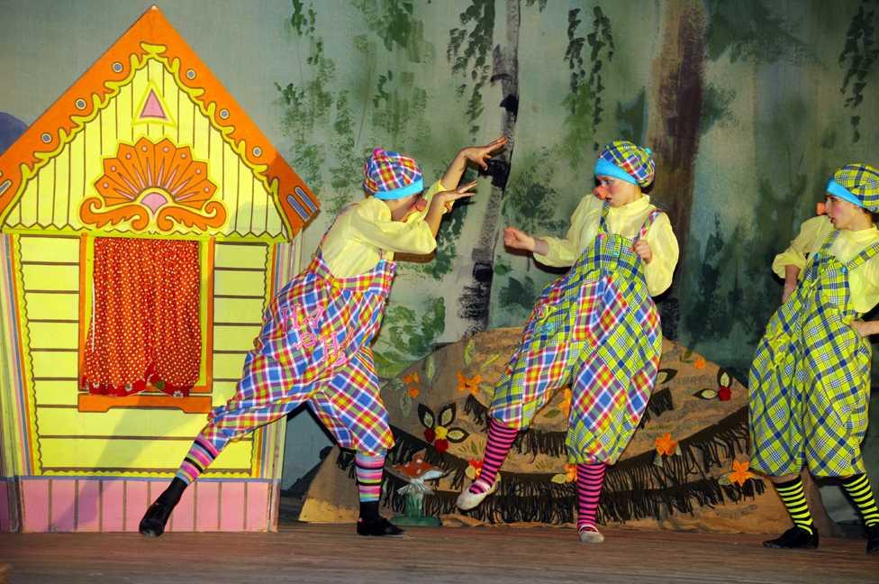 Сценарий развлечения «путешествие в волшебный мир театра»