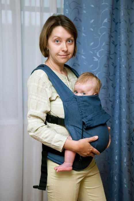 Слинг для новорожденных, нюансы выбора качественного изделия