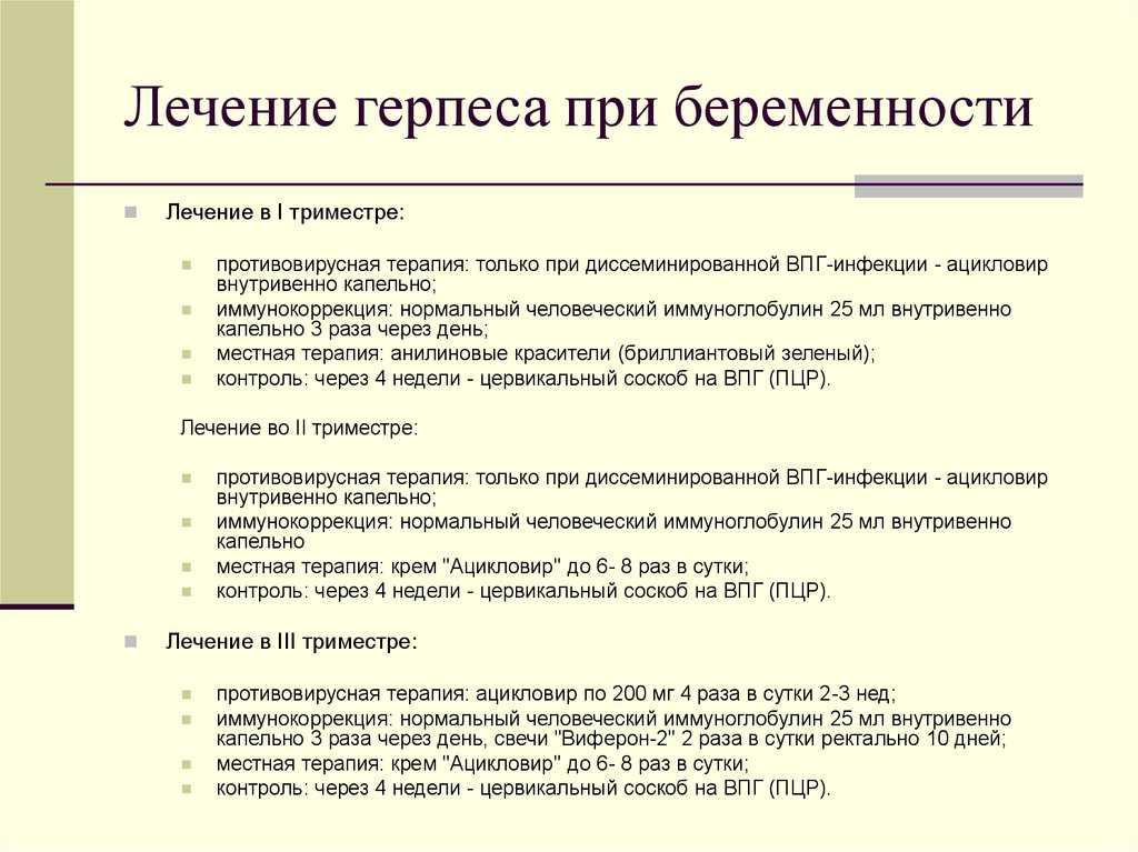 Герпес при беременности:чем опасен на 1, 2 и 3 сроках,чем лечить вирус, есть ли последствияна ранних сроках   pro-herpes.ru