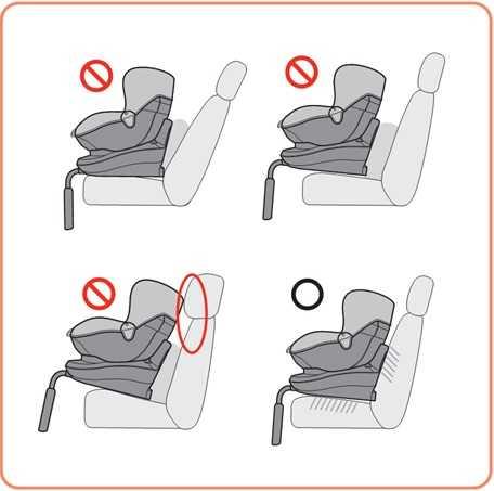 Как установить детское кресло в автомобиле и правильно закрепить его ремнями: советы и видео