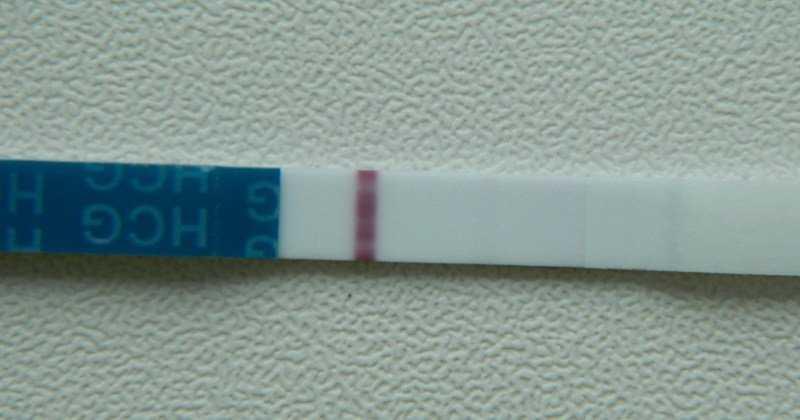 Бледная полоска теста на овуляцию: что это значит?