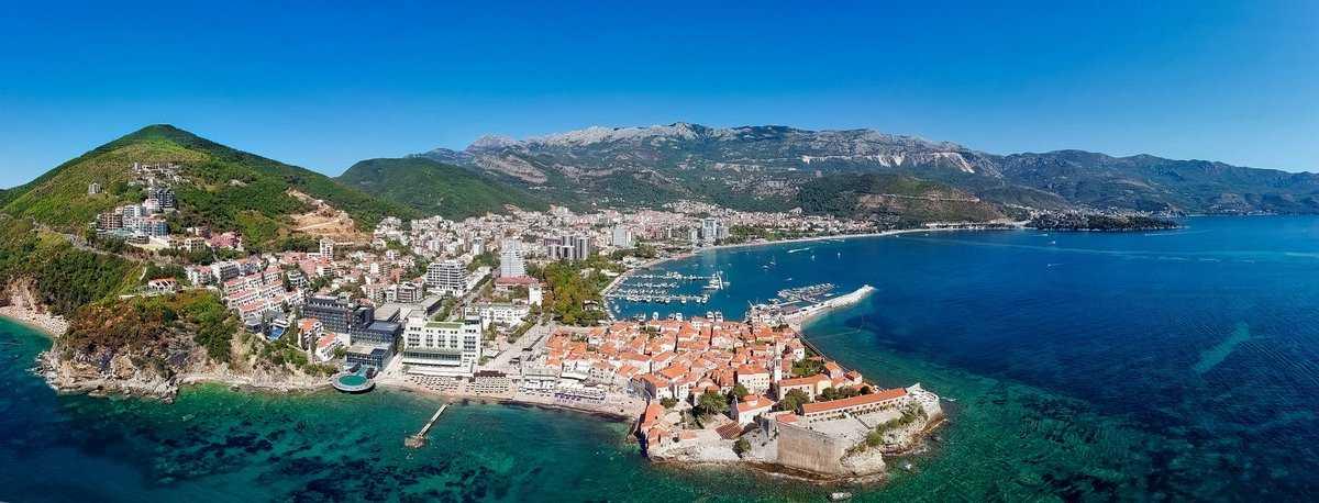 Лучшие курорты в черногории для пляжного отдыха