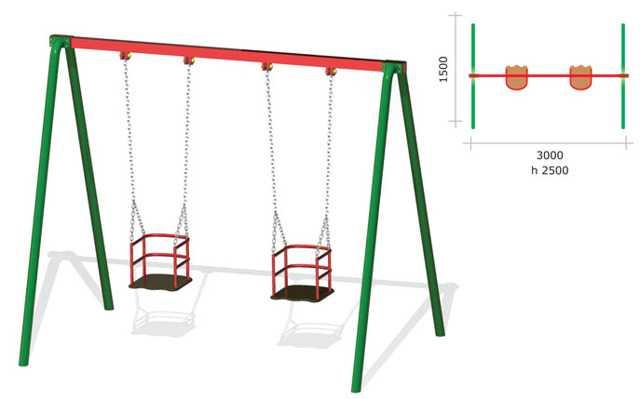 Качели своими руками - лучшие варианты для детской площадки в саду и на участке (видео + 130 фото)