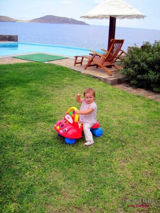 Лучшие отели греции для отдыха с детьми