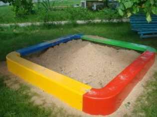 Все о детских песочницах с крышей и их сооружении на загородном участке