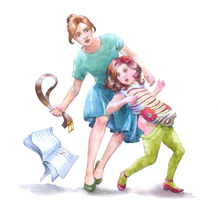 Шлепнула малыша - как этого избежать, основные правила наказания