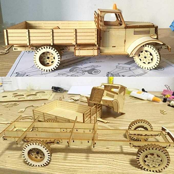 Игрушки из фанеры:  динамические и развивающие игрушки для детей, чертежи для создания своими руками сборных и механических игрушек