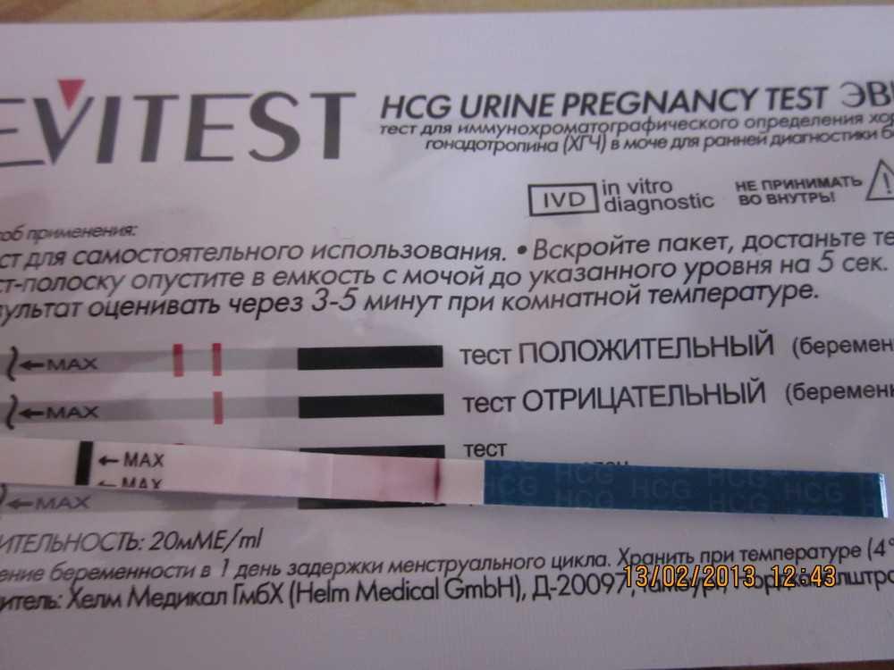 Тест на беременность время проведения - общие рекомендации