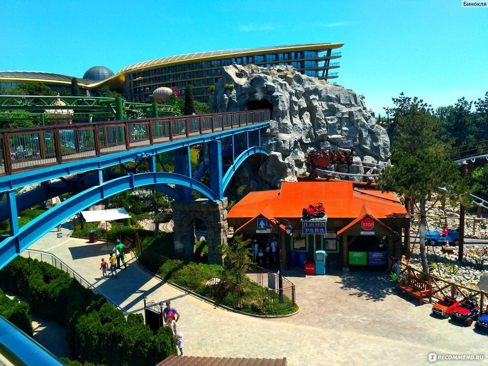 Парк развлечений «дримвуд», ялта, крым. «дримвуд» в отеле «мрия», официальный сайт, стоимость билетов 2020, фото, видео, как добраться — туристер.ру