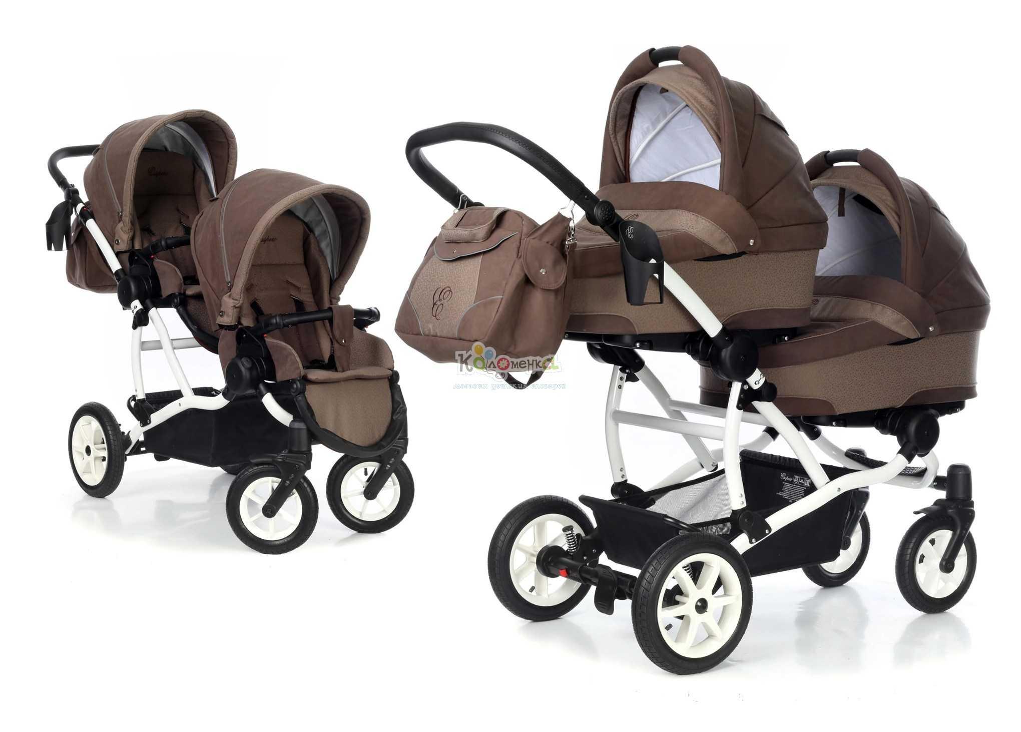 Лучшие коляски для двойни: как выбрать?
