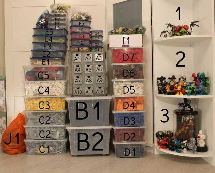 Лучшие контейнеры лего — для малых и больших коллекций