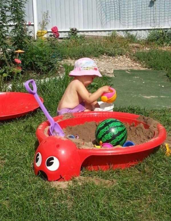 Выбираем песочницу-бассейн для детей