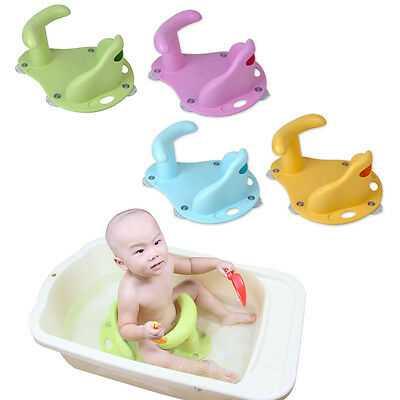 Стульчики для купания малыша в ванной: виды и нюансы выбора