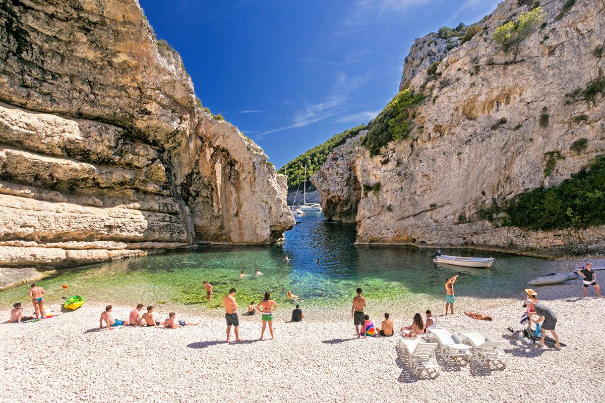 Самые лучшие пляжи хорватии для отдыха