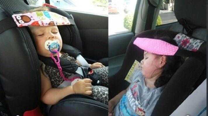 Фиксатор для головы ребенка в автокресле