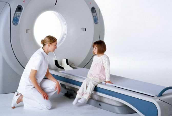 Мрт головного мозга детям, вред, что показывает, наркоз