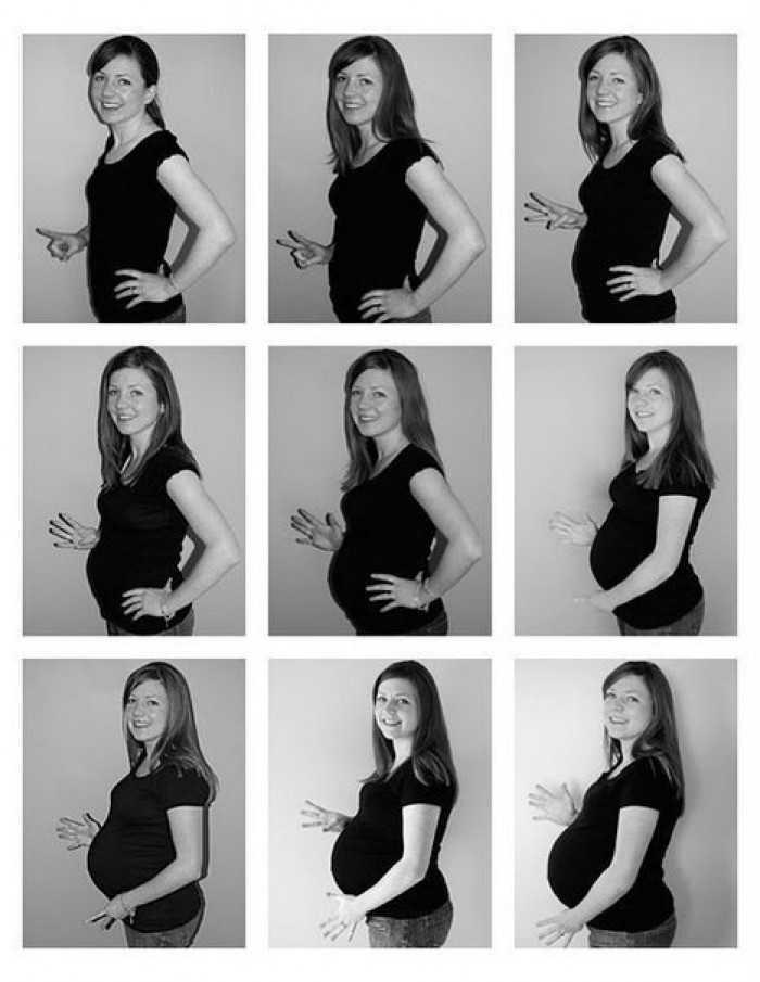 Коллаж беременности   коллаж беременной