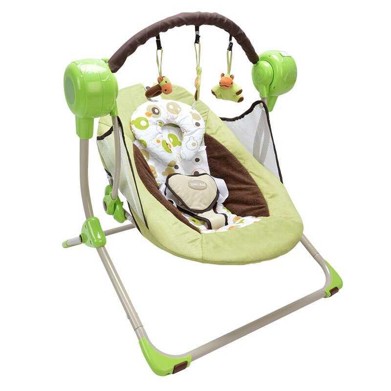 Электронные качели для новорожденных: рейтинг лучших моделей по отзывам владельцев