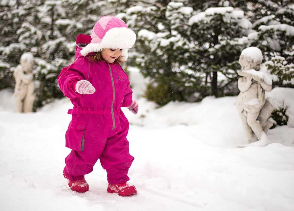 Как одеть новорождённого или грудничка для прогулок зимой и в другое время года