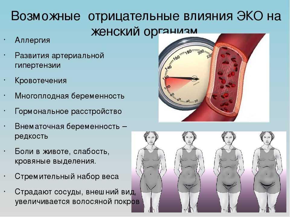Последствия эко для здоровья женщины: чем опасно – минусы, почему вредно – влияние на организм в будущем, мнения врачей