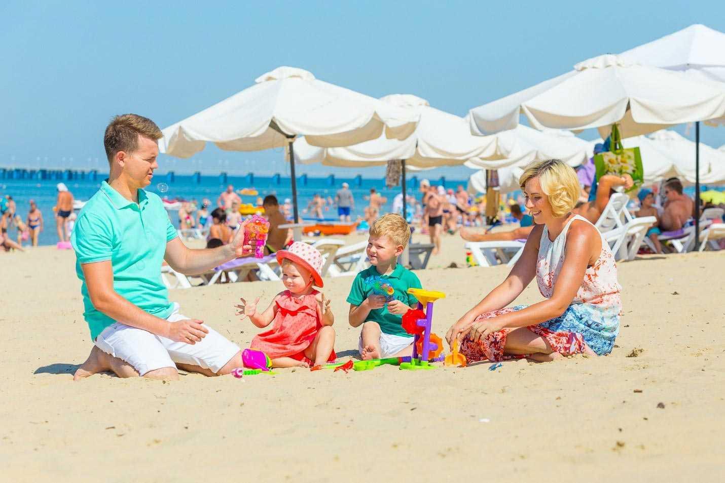Лучшие курорты для отдыха с детьми