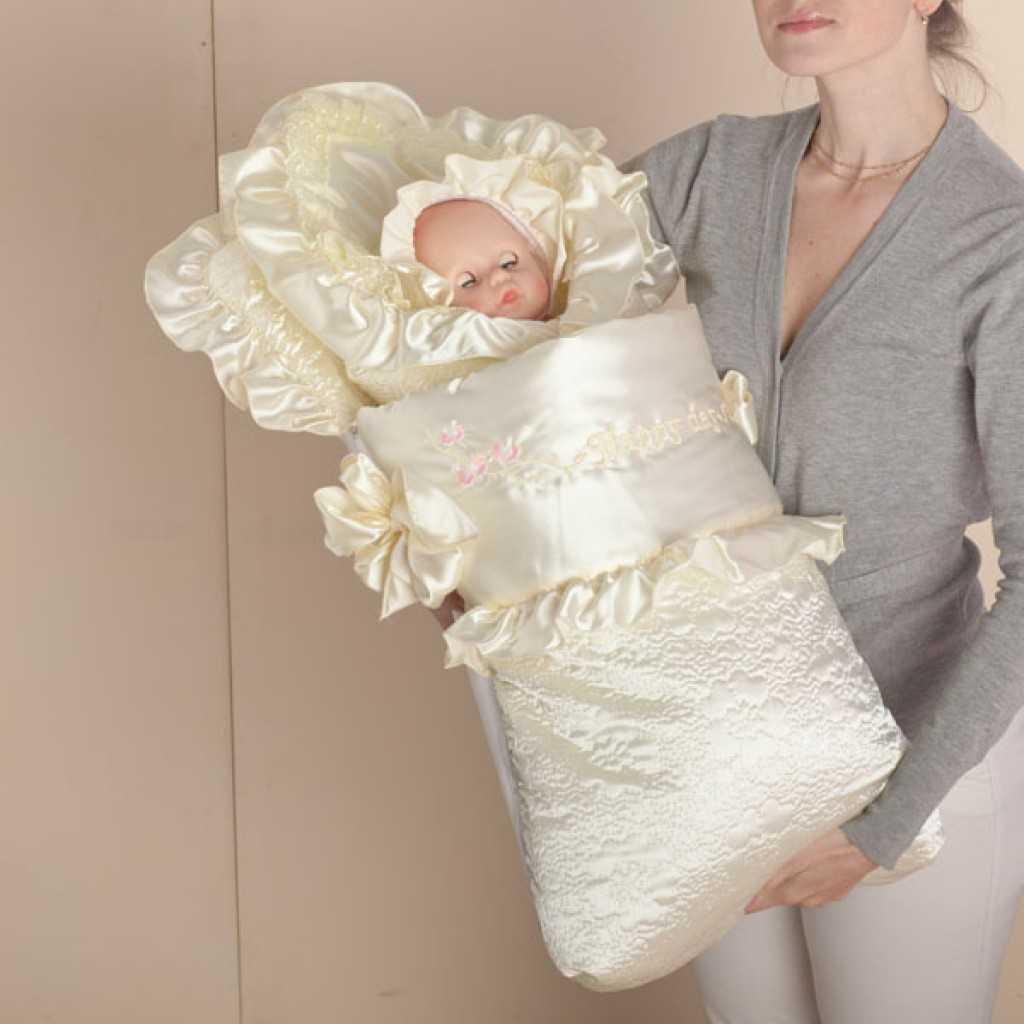 Выкройка конверта для новорожденного с капюшоном: кокон и комбинезон своими руками - сайт о рукоделии