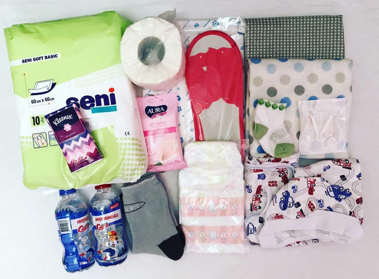 Что нужно брать с собой в роддом для ребенка, мамы - список вещей