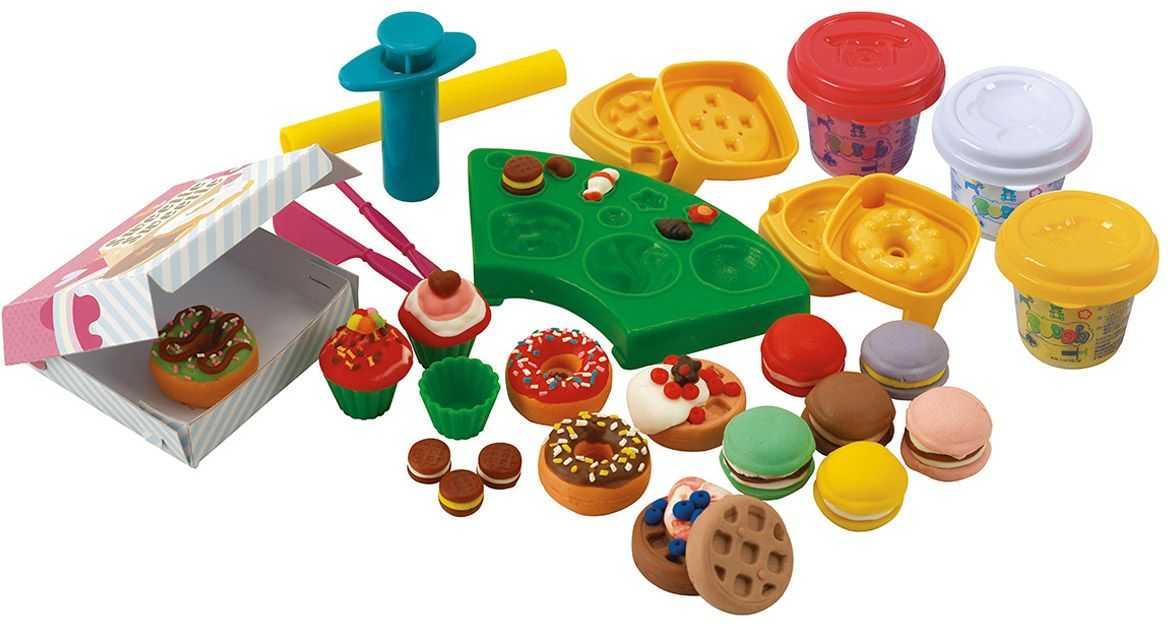 Набор для лепки из пластилина: большие наборы для работы с детьми и детского творчества