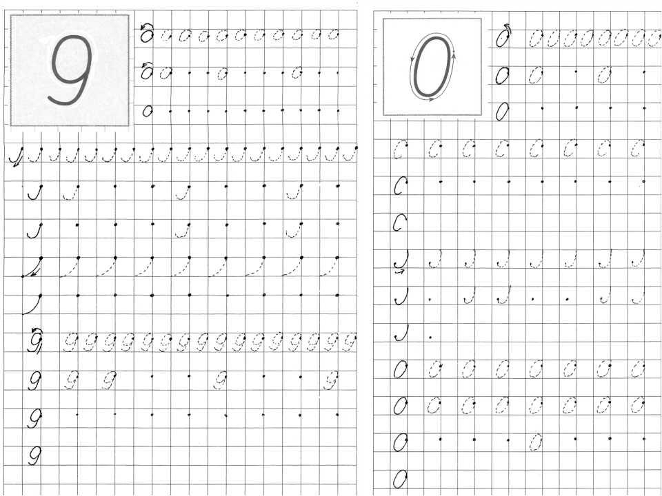 Поднять якорь! как научить детей писать цифры