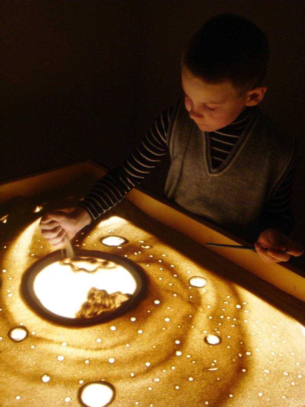 Планшеты для рисования песком: световые столы-песочницы с подсветкой, советы по выбору
