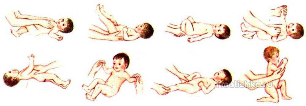 Гимнастика для грудничков: комплекс упражнений и основы их выполнения