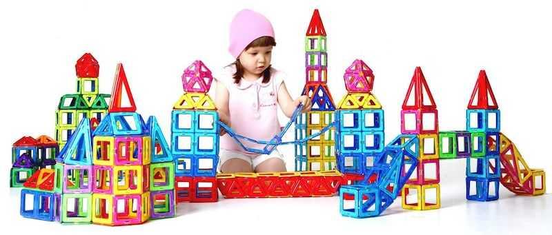 Магнитный конструктор для девочек— что есть для детей до 5 лет и старше