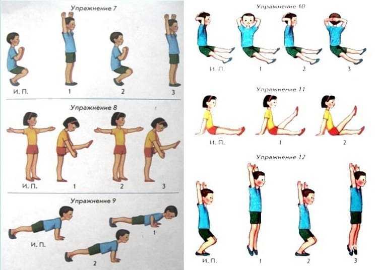 Зарядка для детей 1-2 лет: гимнастика и упражнения