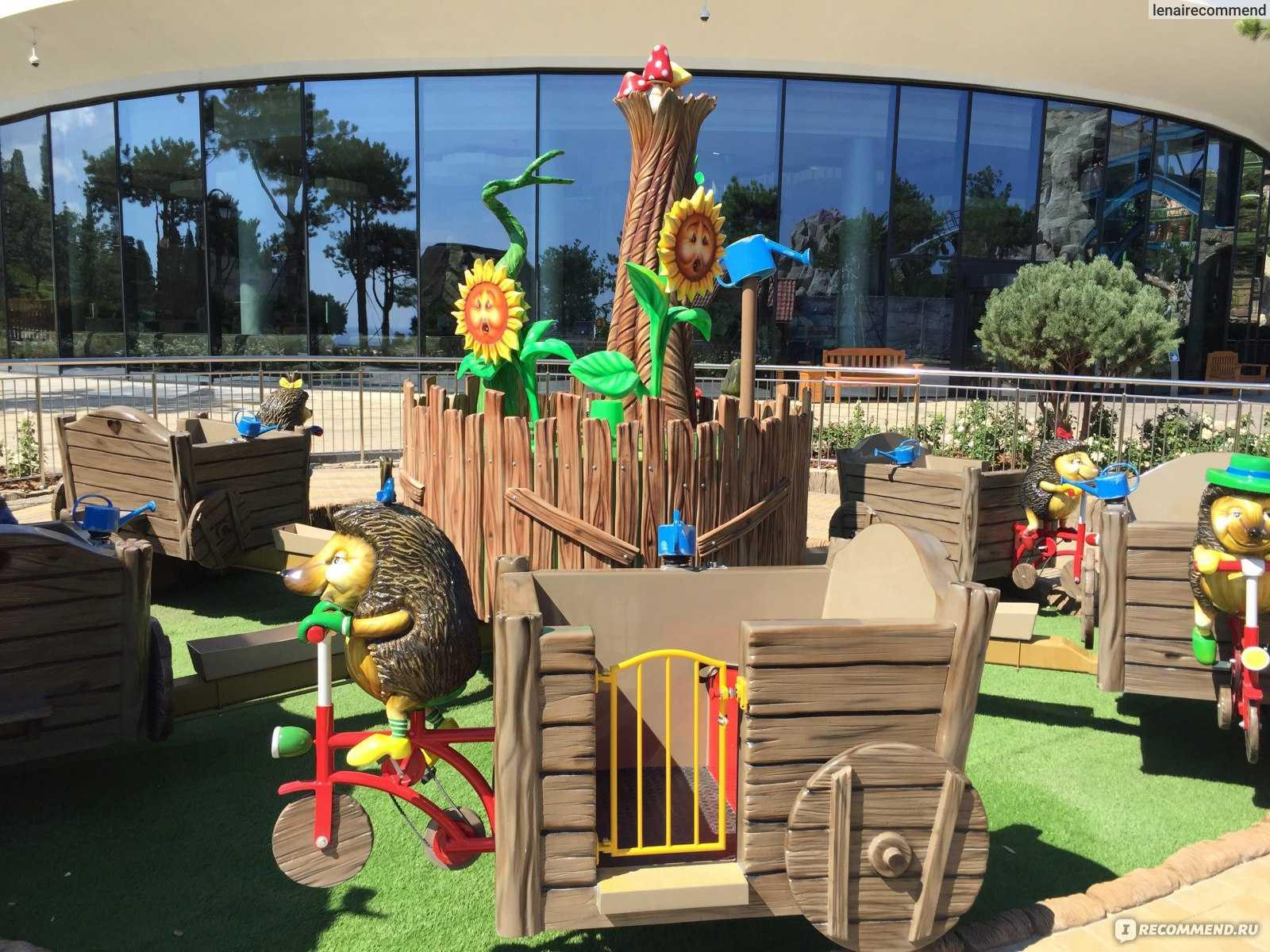 Парк аттракционов в крыму – захватывающий отдых для всей семьи