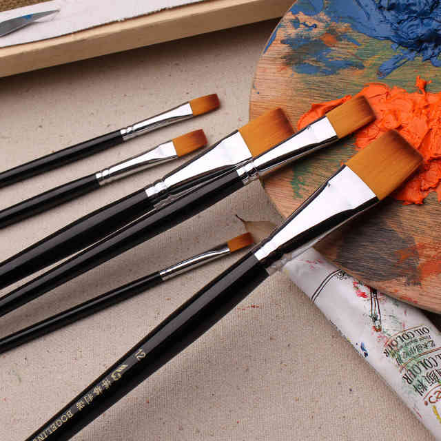 Кисти для маникюра: какие нужны для дизайна, рисования и росписи? как пользоваться тонкой, силиконовой и веерной кистями? отзывы