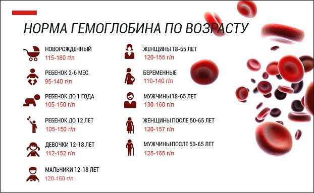 Каким гемоглобин должен быть при беременности во 2 триместре?