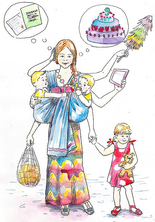 Как справится с рутиной - многодетные мамочки и папочки объединяйтесь!!! - страна мам