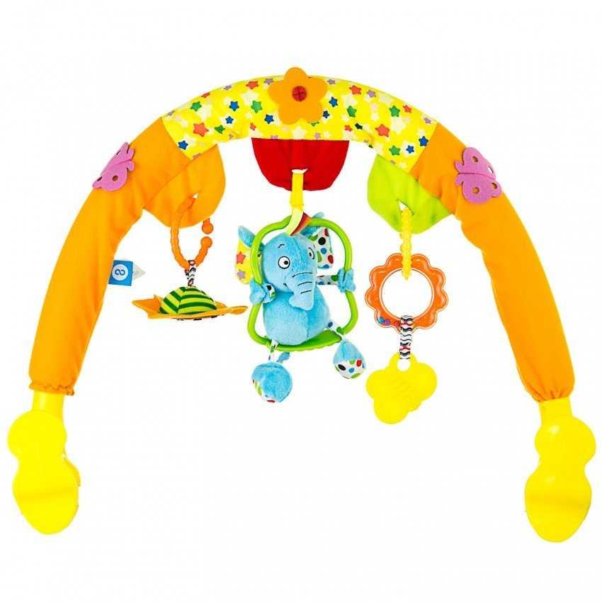 Игрушки на коляску (39 фото): развивающие погремушки и подвески, дуги для новорожденных