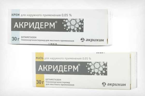 Акридерм гк: подробная инструкция по применению мази и крема, состав, цены, аналоги и отзывы
