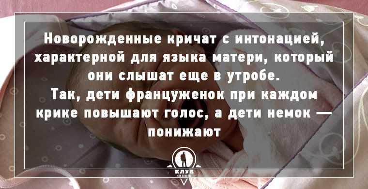 9 удивительных фактов о новорожденных