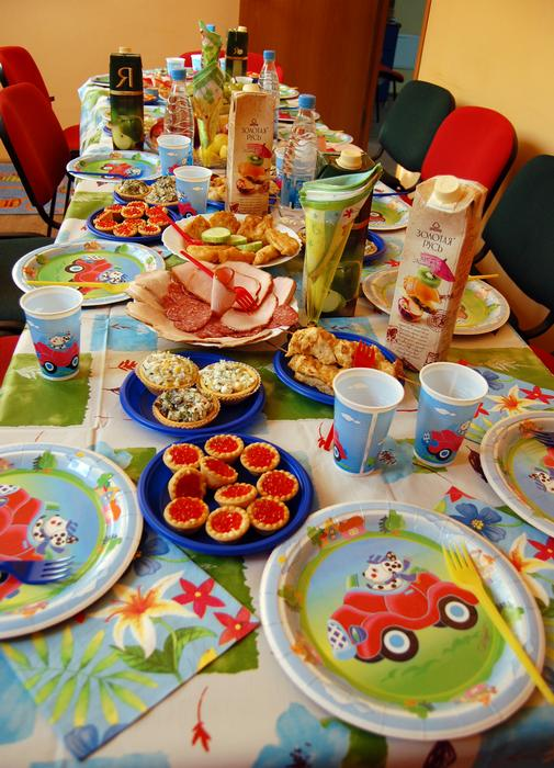 Меню на детский день рождения 5 лет, 4 и 6 лет (68 фото): меню для стола девочки и мальчика
