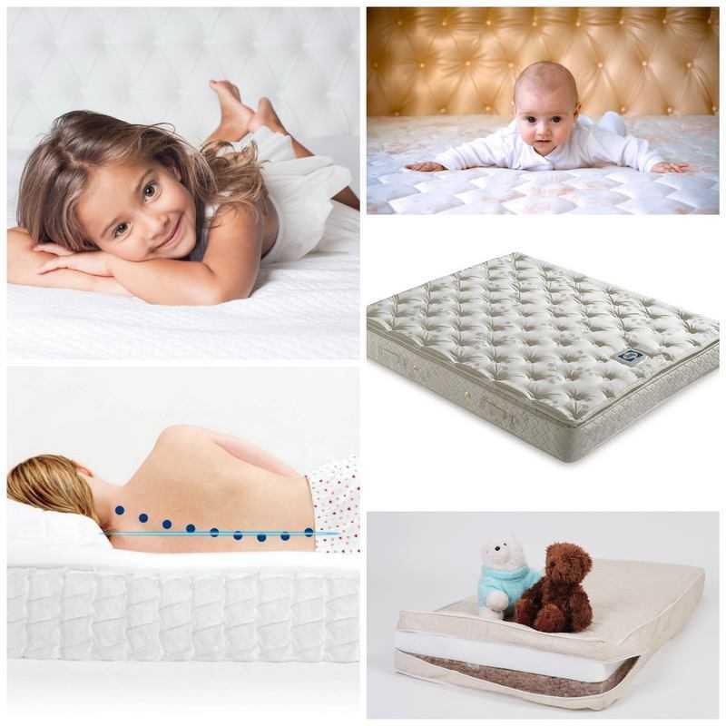 Как выбрать матрас для ребенка: материалы, наполнители