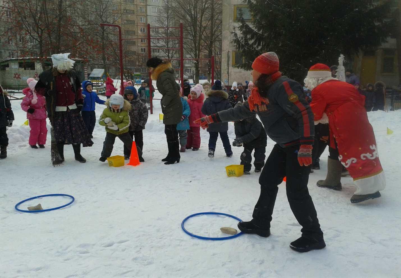 Сценарий развлечения на улице «зимние забавы» для старшего дошкольного возраста